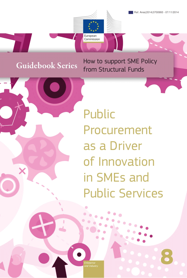 Public Procurement as a Driver of Innovation in SMEs and Public Services